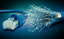 Fibre optic cable advantages - speed