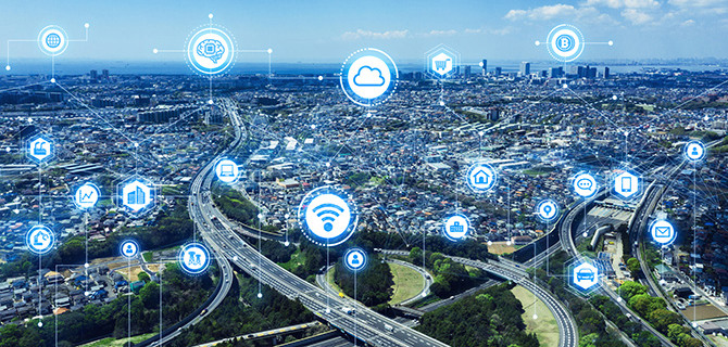 """Network infrastructure is now being located closer to the source devices, a trend known as """"edge computing."""""""