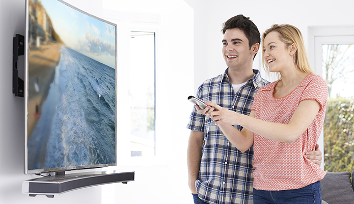 Pick the right TV or monitor for your home, office, restaurant, bar, retail space or kiosk.