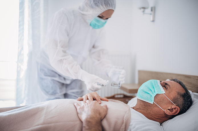 antimicrobial protection for medical facilities