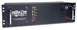 LCR2400 power conditioner for guitar amp