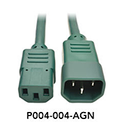Power Cord Connector Color Green
