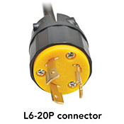 Power Cord Connector Type L6-20P