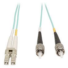 multimode patch cord - aqua fiber
