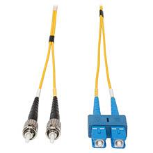 single mode fiber - yellow fiber