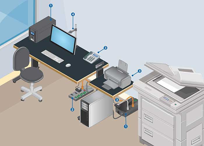 The Importance of Power Protection for Office Workstations