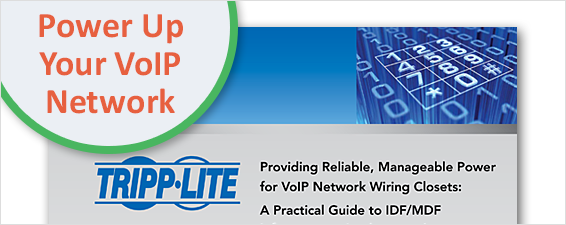 A Practical Guide to IDF/MDF Infrastructure Implementation White Paper